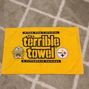 Steeler's Terrible Towel